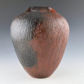 Cling, Alice – Tall Corn Husk Side Jar