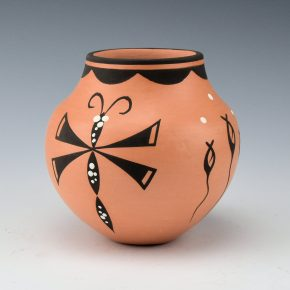 Peynetsa, Anderson – Jar with Dragonflies