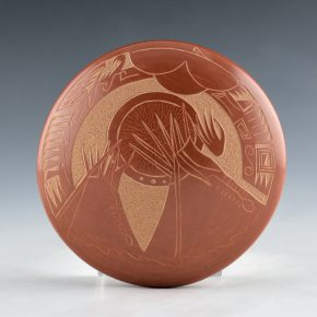 Haungooah, Art Cody – Seedpot with Teepees
