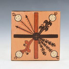 "Sahmie, Ida – ""Four Sacred Plants"" Tile"