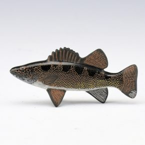 Moquino, Jennifer Tafoya – Walleye Clay Figure