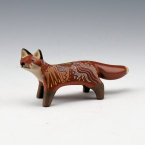 Moquino, Jennifer Tafoya – Red Fox with Cloud and Rain Designs
