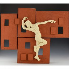 Simpson, Rose – Wall Sculpture with Dancing Figure