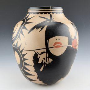 Ortiz, Virgil – Blind Archer with Red Rose & Wildflowers Jar