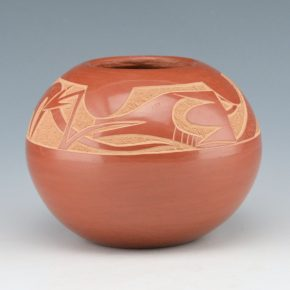 Haungooah, Art Cody – Bowl with Avanyu (1978)