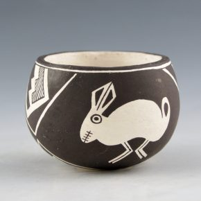 Lewis, Emma – Bowl with Mimbres Rabbits