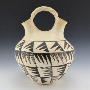Garcia, Jessie – Wedding Vase with Bird Wing Designs (1970's)