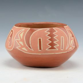 Tafoya, SaraFina – Bowl with Lightning Designs (1933)