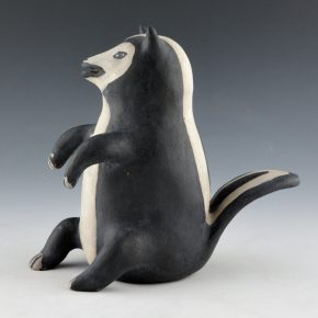 Ortiz, Seferina – Skunk Clay Figure