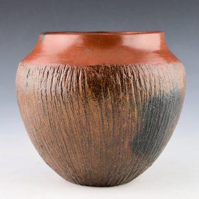 Cling, Alice – Jar with Corn Husk Design