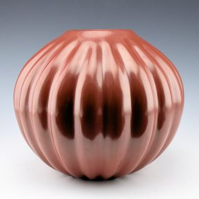 Komalestewa, Alton –  Melon Jar with 21 Ribs (1980's)