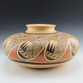 Nampeyo, Fannie – Large Migration Pattern Jar (1970's)