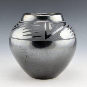 Martinez, Maria – Jar with Cloud Designs (Maria Popovi 769)