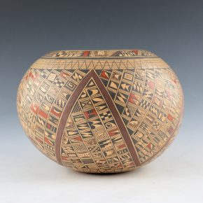 Huma, Rondina – Bowl with Pottery Shard Designs (2000)