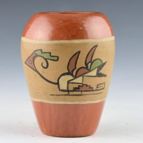 Tafoya, Severa – Jar with Polychrome Birds (1930's)