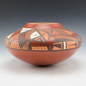 Lucas, Steve – Bowl with Katsinas and Sky Designs