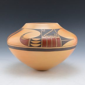 Lucas, Steve – Red Tail Hawk Jar