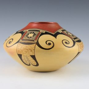 Nampeyo, Tonita – Bowl with Eagle Tail Design