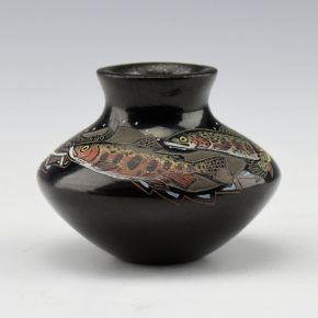 Tafoya, Jennifer – Mini Jar with Trout