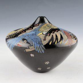 Tafoya, Jennifer (Moquino) – Jar with Parrots