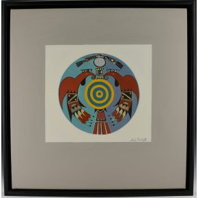 "Namingha, Les – ""Polychrome I (Dextra Series)"" Acrylic on Canvas"