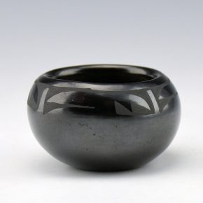 Gutierrez, Margaret Lou – Mini Bowl with Cloud and Rain Designs (1990's)