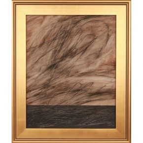 "Hubbell, Patrick Dean – ""The Smell of Rain is Refreshing to the Soul"" Oil & Earth Pigments"