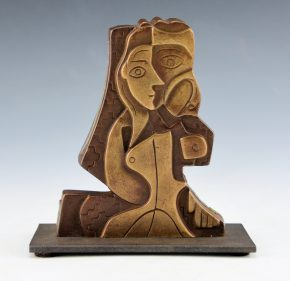 "Garcia, Tammy – ""Seeded Woman I"" Bronze.  Ed. 7/35"