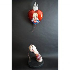 "Arthur Lopez – ""La Asuncion de Maria"" Wood Carving"
