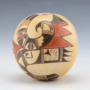 Naha-Nampeyo, Cheryl – Seedpot with Hopi Birds