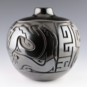 Begay, Daniel – Storage Jar with Avanyu and Stars
