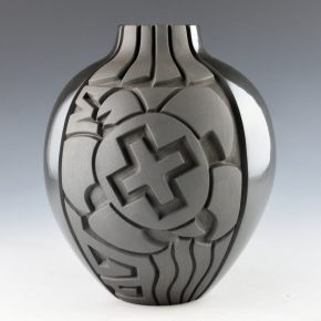 Begay, Daniel – Jar with Turtle and Star Designs