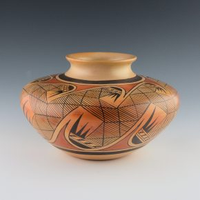 Nampeyo, Fannie – Migration Pattern Jar (1970's)