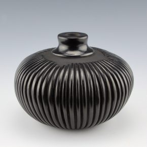 Medicine Flower, Grace – Jar with 63 Carved Melon Ribs (1988)
