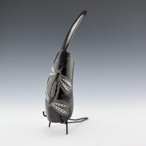 "Pourier, Kevin – Buffalo Horn ""Double Dragonfly"" Sculpture"