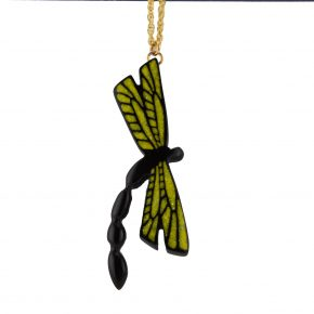 Pourier, Kevin – Buffalo Horn Dragonfly Pendant