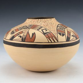 Nampeyo, Rayvin – Jar with Rainbow Design
