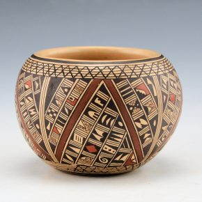 Huma, Rondina – Small Bowl with Geometric Patterns