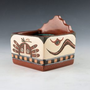 Sanchez, Russell  – Polychrome Corn Meal Box