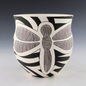 Lewis, Eric & Sharon Lewis -Fine-Line Dragonfly Jar