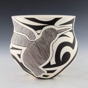 Lewis, Eric & Sharon Lewis -Fine-Line Hummingbird Jar