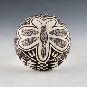 Lewis, Sharon – Seedpot with Fine-Line Dragonfly