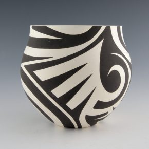 Lewis, Eric – Jar with Bird Wing Designs