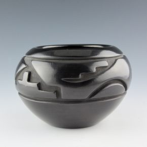 Tafoya, Margaret, Toni Roller & Charles Lewis – Bowl with Rain and Mountain Designs