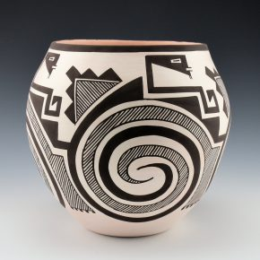 Sarracino, Myron – Tularosa Swirl and Lightning Jar