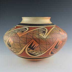 Nampeyo, Fannie – Large Migration Pattern Jar (1972)