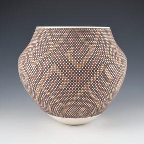 Antonio, Frederica – Four Color Wind Design Jar