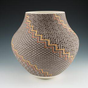 Antonio, Frederica – Four Seasons Jar with Lightning Designs