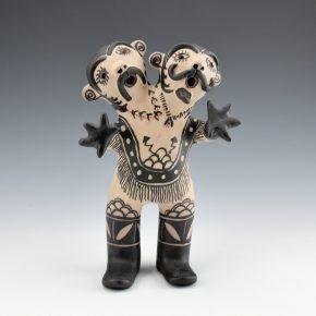 Ortiz, Inez – Double Headed Monos Figure